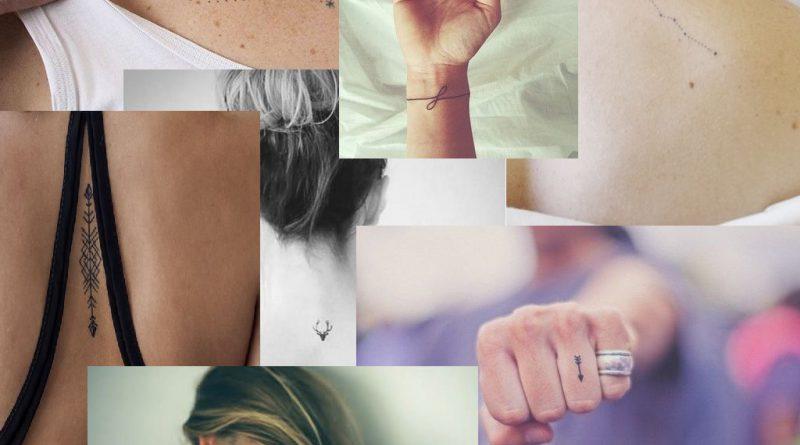 50 minimalista tetoválás