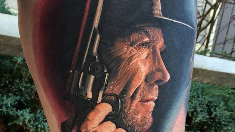 A film a Piszkos Harry, a színész Clint Eastwood az alkotó Phil Garcia az USA-ból, a kivitelezés tökéletes…