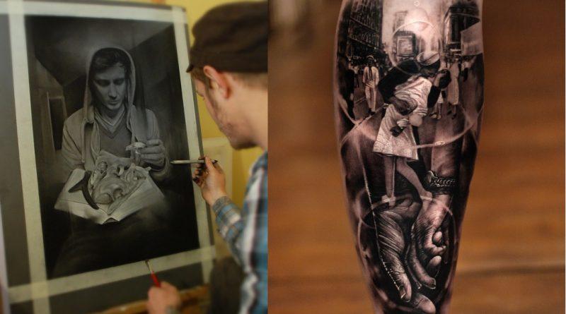 Top 5 black & gray tetoválóművész – 5. Matthew James