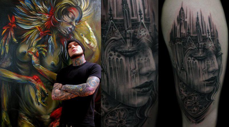 Top 5 black & gray tetoválóművész – 3. Tony Mancia