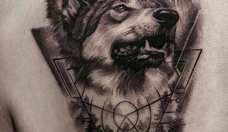Alkotó (Artist) Dongkiu  Lee – Q Tattoo  Dél-Korea (South Korea)